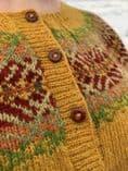 Autumnsong Cardigan - Mandy Moore - Olach Designs